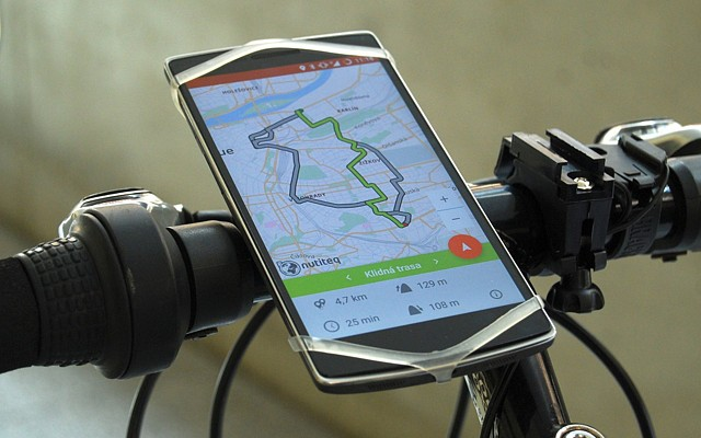 Cykloplánovač - unique navigation for bikers