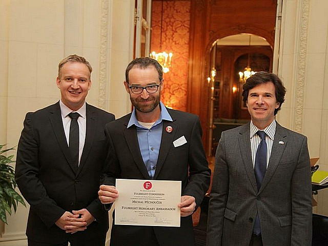 Prof. Michal Pěchouček gained Fulbright Honorary Ambassador title