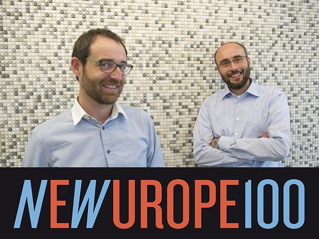 New Europe 100 challengers - two IT professionals from CVUT FEL are among them