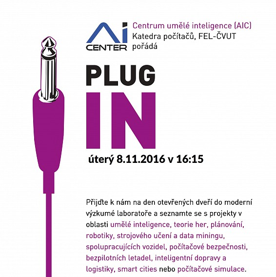 AIC invites you to PLUG IN 2016