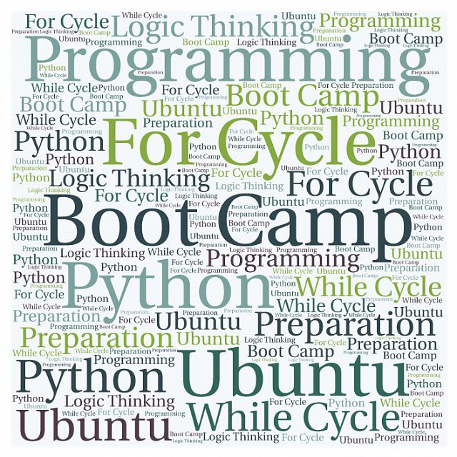 Summer programming boot camp 2017