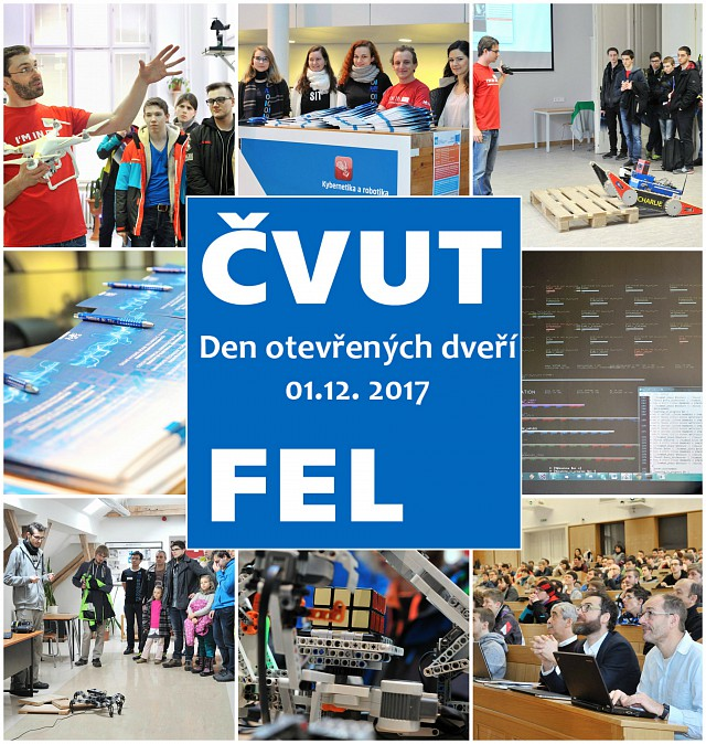 Den otevřených dveří -  Day with a FACULTY OF ELECTRICAL ENGINEERING