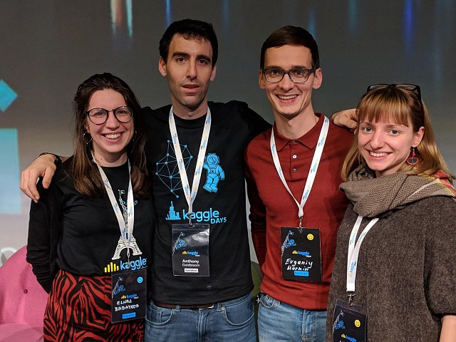 Success of Our Students in Kaggle Days Competition 2019 in Paris
