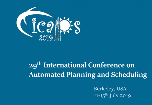 Our paper got accepted to ICAPS 2019