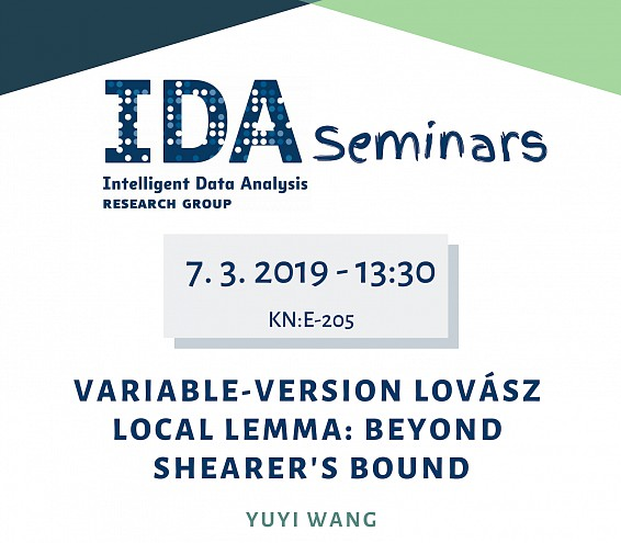 IDA Seminar - Variable-Version Lovász Local Lemma: Beyond Shearer's Bound