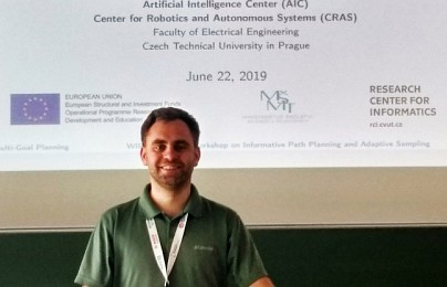 Jan Faigl at RSS 2019
