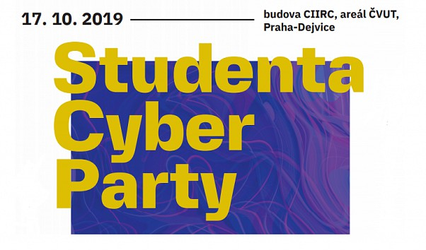 Onřej Lukáš at Studenta Cyber Party